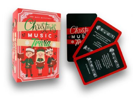 Christmas Music Trivia Card Game